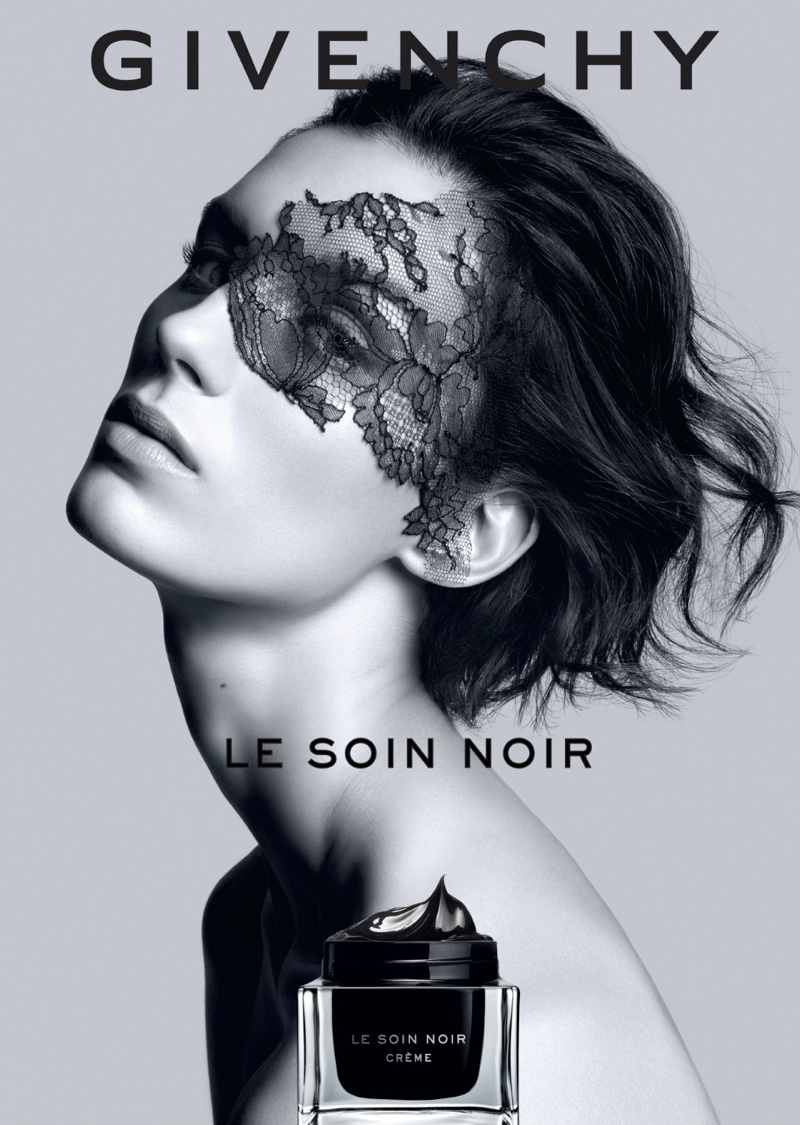 Marte Mei Van Haaster stars in Givenchy Le Soin Noir campaign