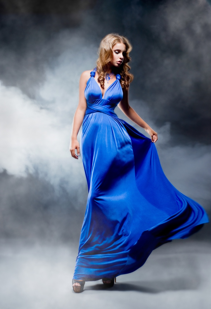 Glam Gown Woman
