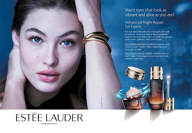 Estee Lauder taps Grace Elizabeth for Advanced Night Repair Eye campaign