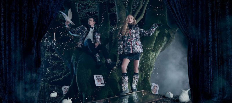 Alistair Waterfield and Sylvie McDonald front Hunter Original Christmas 2019 campaign