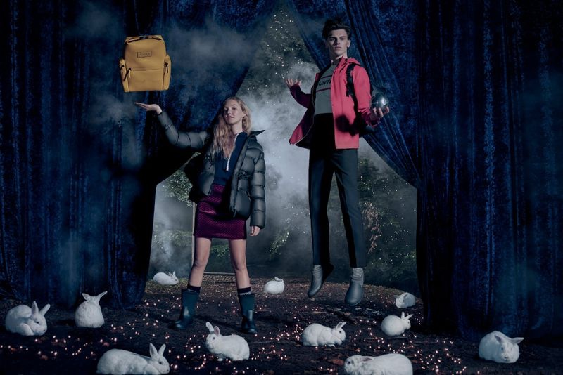 An image from Hunter Original's Christmas 2019 advertising campaign