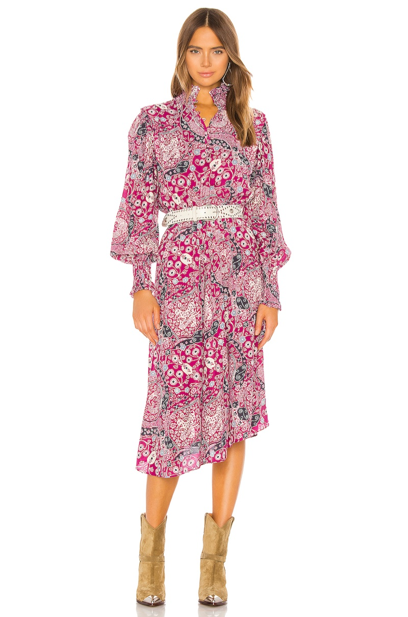 Isabel Marant Etoile Cescott Dress $550