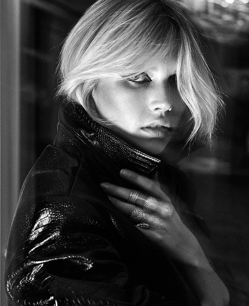 Jana Julius Channels 1980's Fashion for Vogue Poland