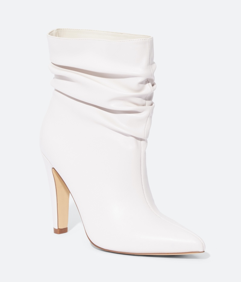 JustFab Starlet Slouchy Heeled Bootie $39.95
