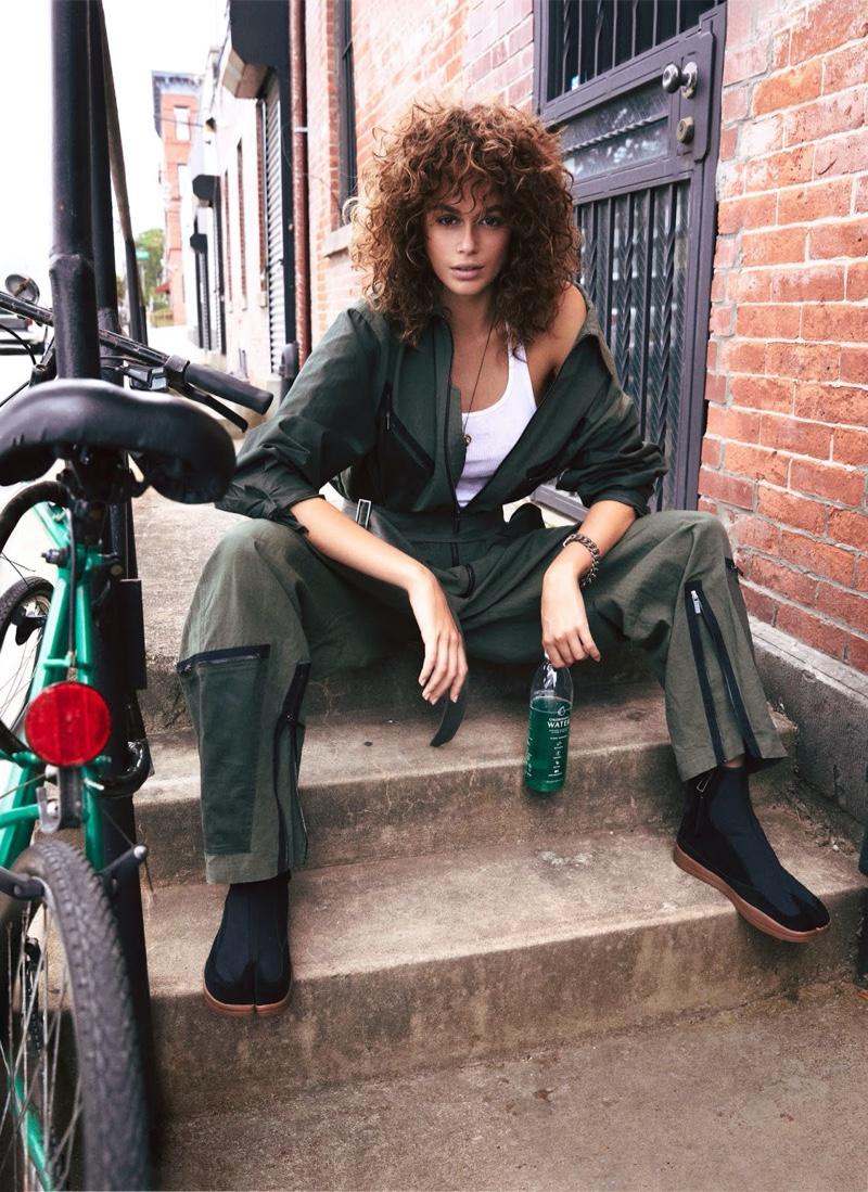 Kaia Gerber Is A Fashion Chameleon in Rising Designers for Vogue