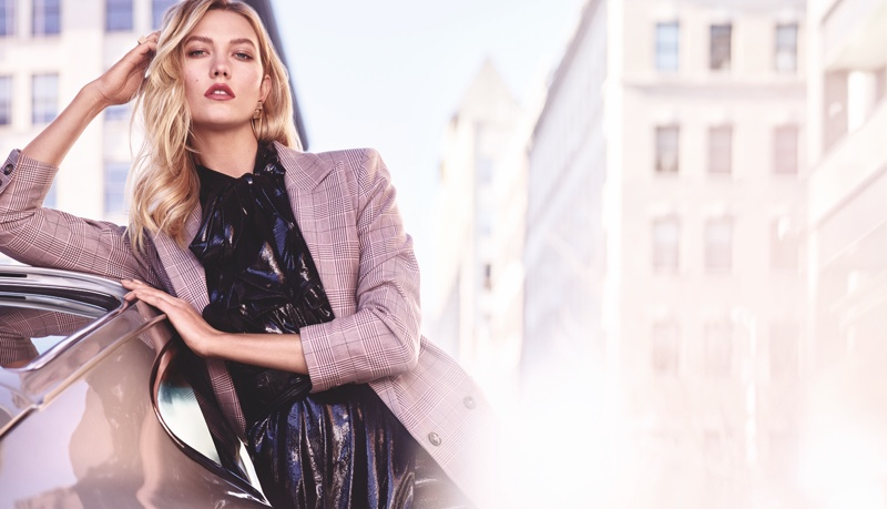 Estee Lauder taps Karlie Kloss for Pure Color Envy - Rebellious Rose campaign