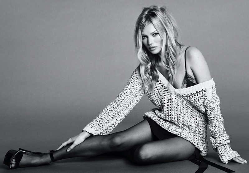 Kate Moss stars in Ermanno Scervino spring-summer 2020 campaign
