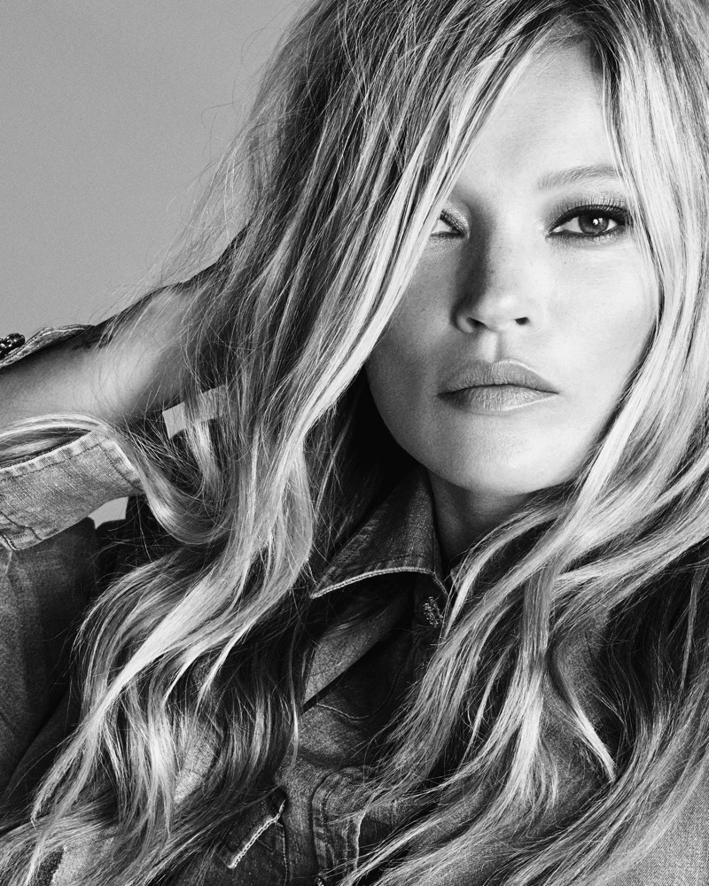 Kate Moss appears in Ermanno Scervino spring-summer 2020 campaign