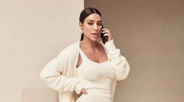 Kim Kardashian stars in SKIMS Cozy Collection campaign