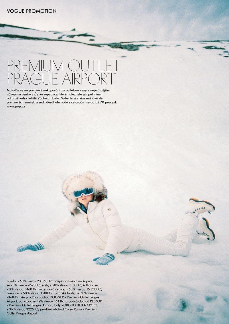 Kirin Dejonckheere Models Après-Ski Looks for Vogue Czechoslovakia