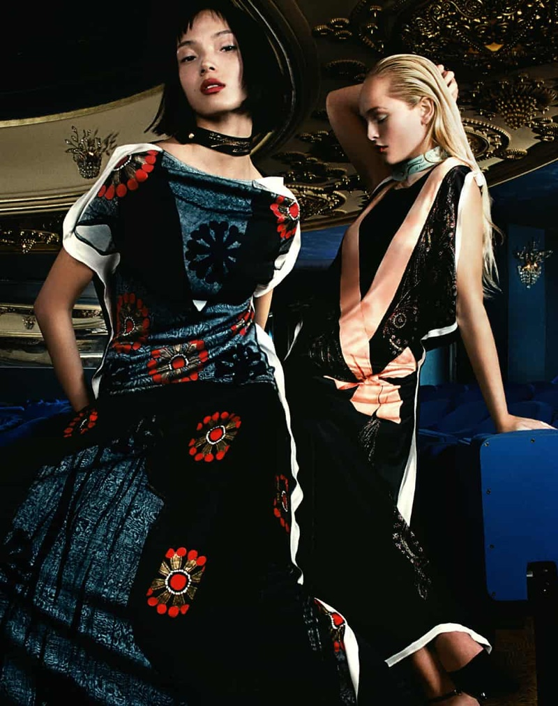 Lanvin features re-editions of Jeanne Lanvin's designs for 130th Anniversary capsule collection