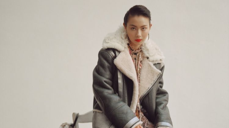 Lauren Tsai Embraces Coach's Winter Styles for The Laterals