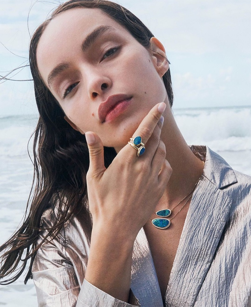Model Luma Grothe poses for Hardy Brothers spring-summer 2019 campaign