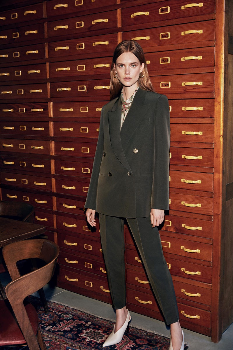 Stina Rapp Wastenson suits up in Maksu fall-winter 2019 campaign