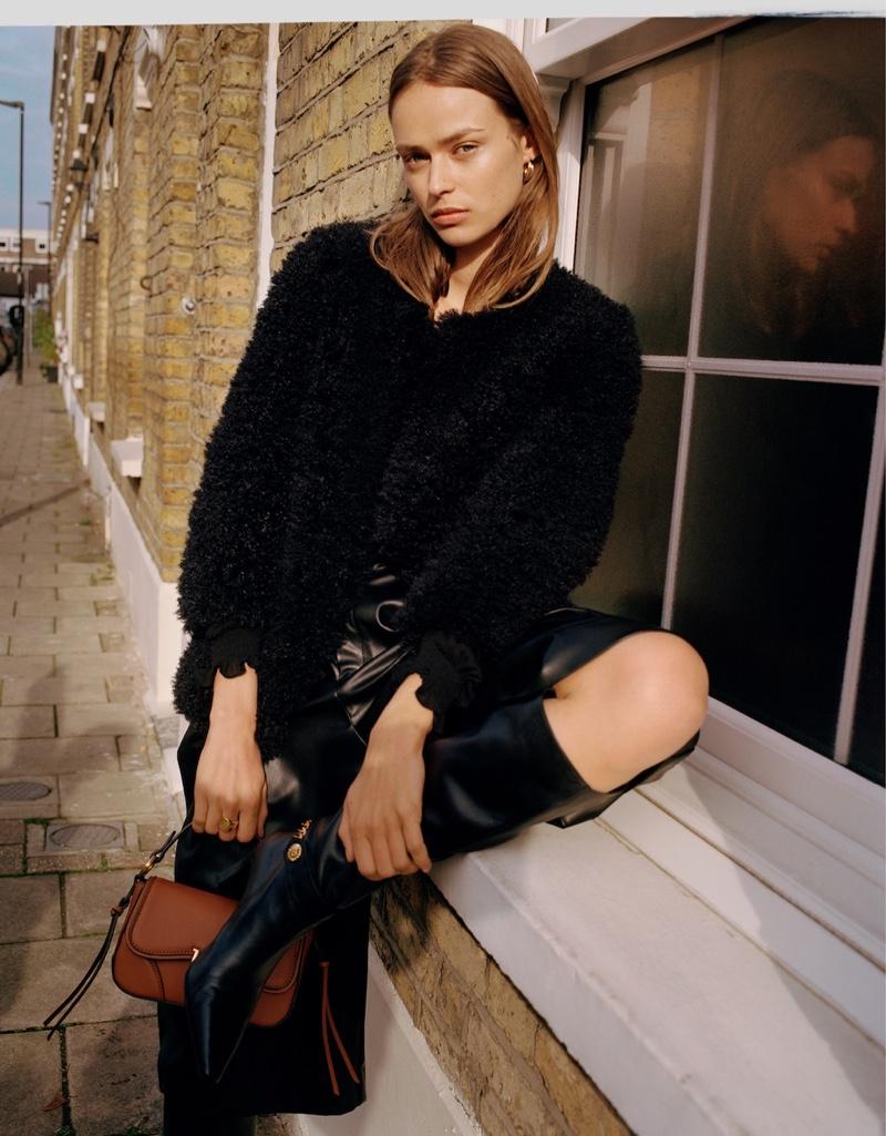 Birgit Kos Models London Girl Fashions for Mango