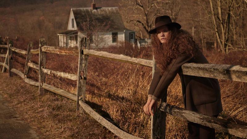 Wild Nature: Carolina Burgin Poses in Massimo Dutti's Winter Styles