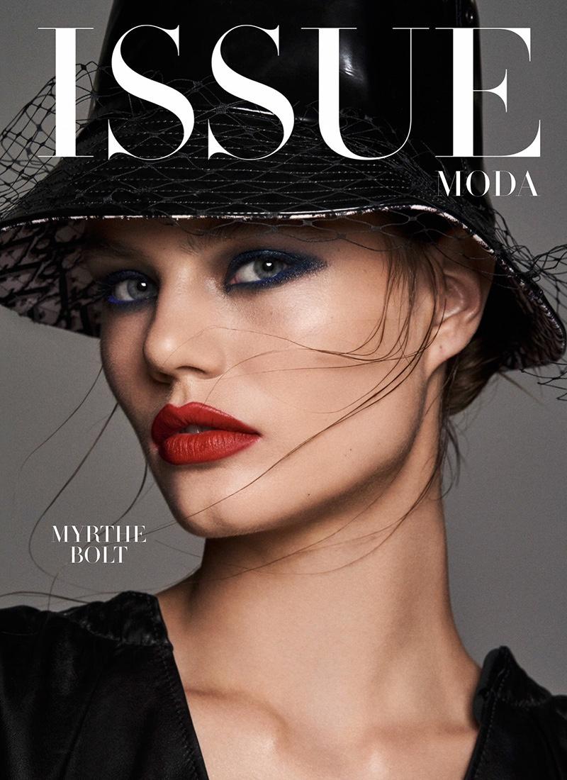 Myrthe Bolt Models Glamorous Looks for Issue Magazine