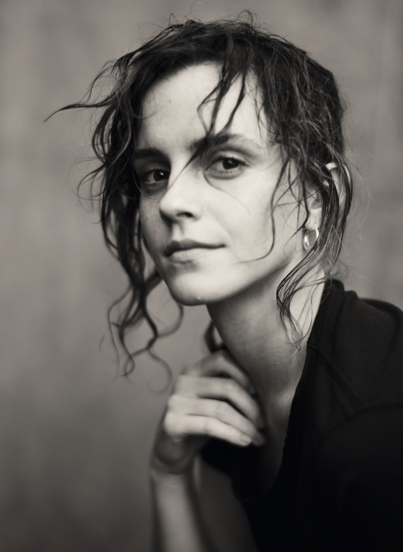 Emma Watson poses in Pirelli 2020 Calendar called, Looking for Juliet. Photo: Paolo Roversi