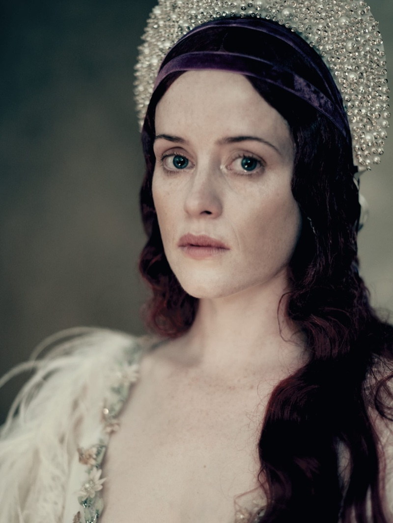 Actress Claire Foy appears in Pirelli 2020 Calendar. Photo: Paolo Roversi