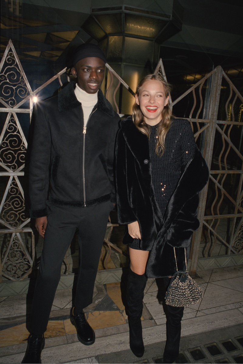 Pull & Bear features night out looks in Holiday 2019 party trend guide