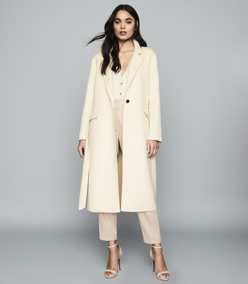 REISS Ellie Longline Overcoat $545