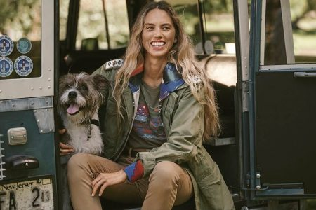 Bambi, Maria & Faith Head Outdoors for Ralph Lauren Holiday 2019 Campaign