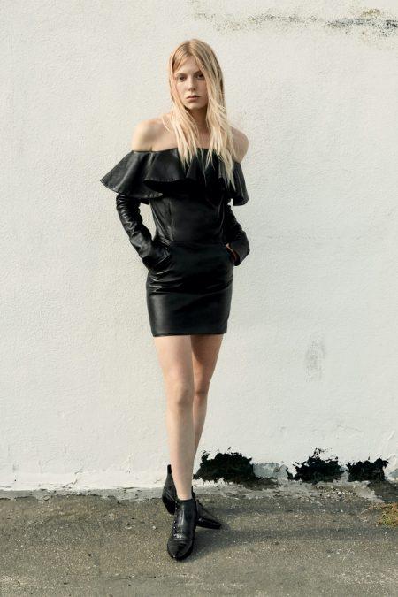 Kaia Gerber Exudes Cool in Saint Laurent Resort 2020 Collection
