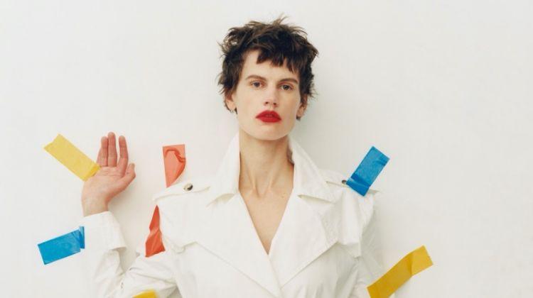 Saskia de Brauw Poses in Bold Styles for Vogue Korea