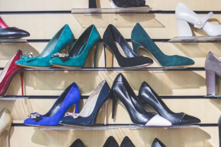 Shoe Selection Heels Store