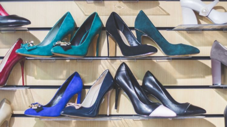 Shoe Selection Heels Store