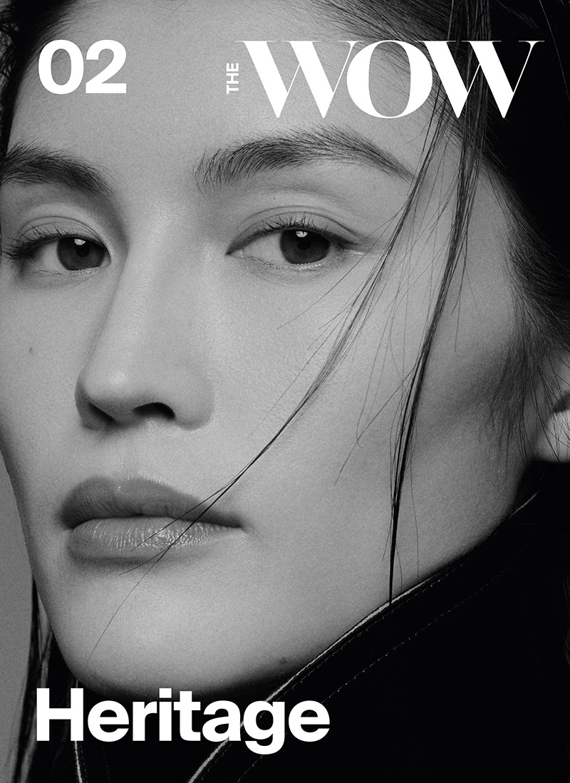 Sui He Charms in Black & White for The WOW Magazine