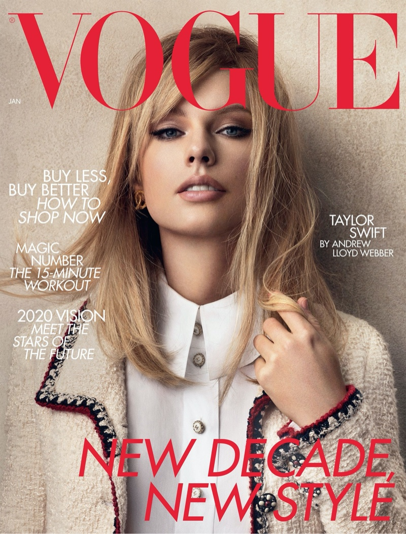 Taylor Swift on Vogue UK January 2020 Cover