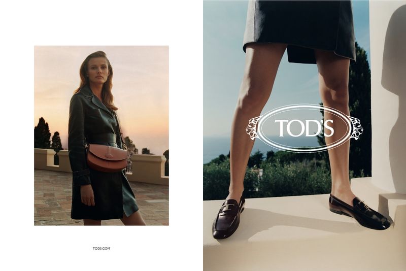 Tod's unveils resort 2020 campaign with Edita Vilkeviciute