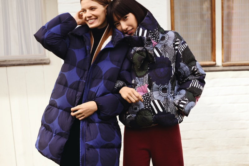 Uniqlo x Marrimekko fall-winter 2019 campaign