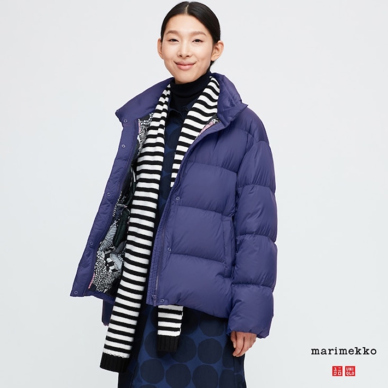 Uniqlo x Marimekko Ultra Light Down Cocoon Jacket $89.90