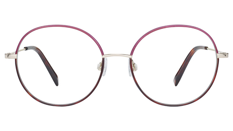 Warby Parker Nellie Glasses in Negroni Fade with Polished Gold $145
