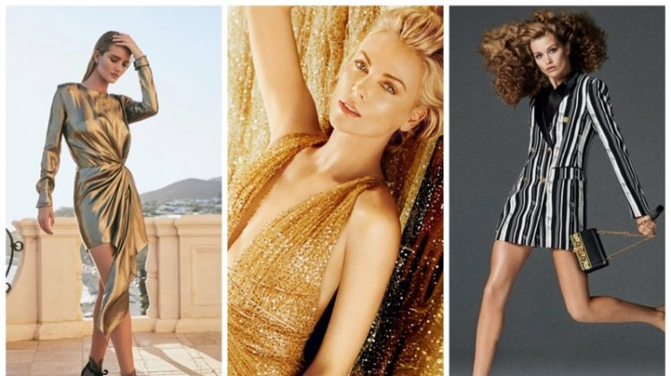 Week in Review | Luna Bijl's New Cover, Rosie HW in Jimmy Choo, Charlize Theron for Dior + More