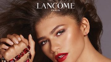 Zendaya stars in Lancome L'Absolu Rouge Ruby Cream campaign