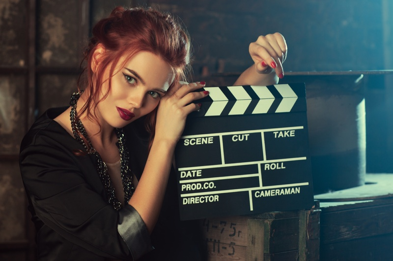 Actress Director's Take Clapperboard Film