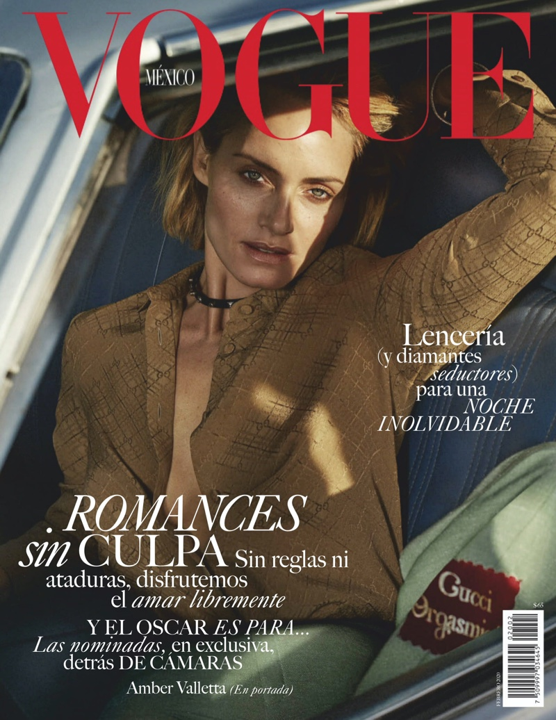Amber Valletta Poses in Laid-Back Looks for Vogue Mexico