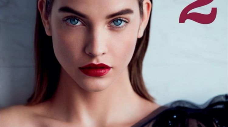 Barbara Palvin Stuns in Armani Beauty for Marie Claire Italy