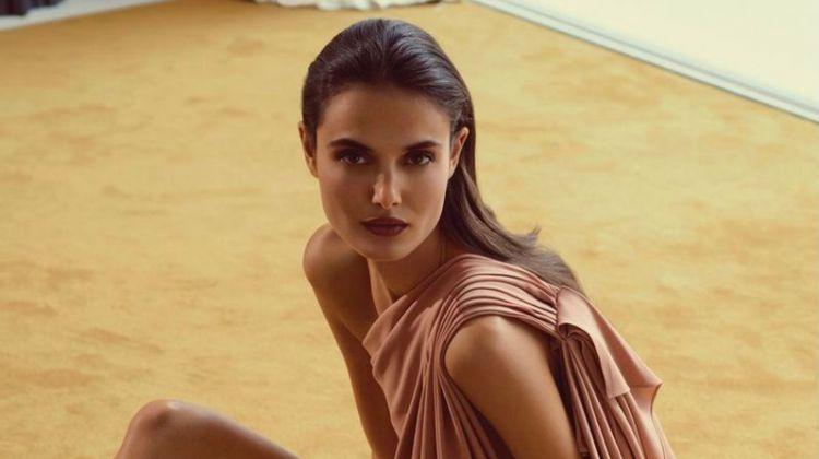 Blanca Padilla Wears Luxe Fashion for Tatler Russia