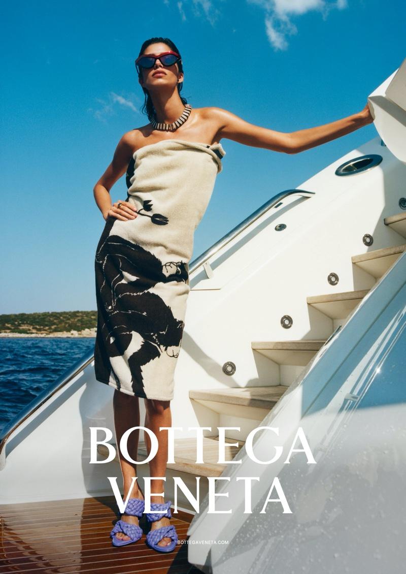 Mica Arganaraz stars in Bottega Veneta spring-summer 2020 campaign