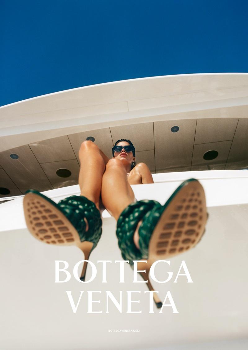 Bottega Veneta focuses on heels with spring-summer 2020 campaign