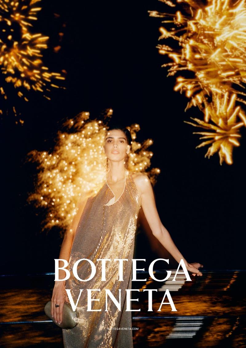 Mica Arganaraz appears in Bottega Veneta spring-summer 2020 campaign