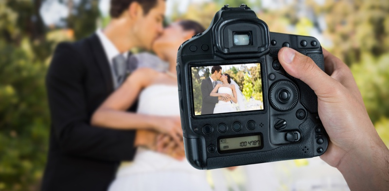 Camera Wedding Photographer Hand