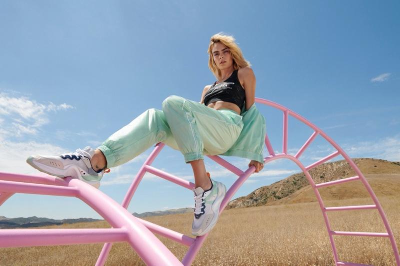 Cara Delevingne stars in PUMA Rise sneaker campaign