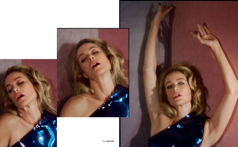 Carolyn Murphy Graces the Pages of Vogue Czechoslovakia