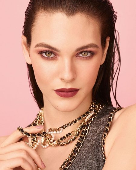 Vittoria Ceretti Gets Her Closeup in Chanel Makeup Spring 2020 Ads