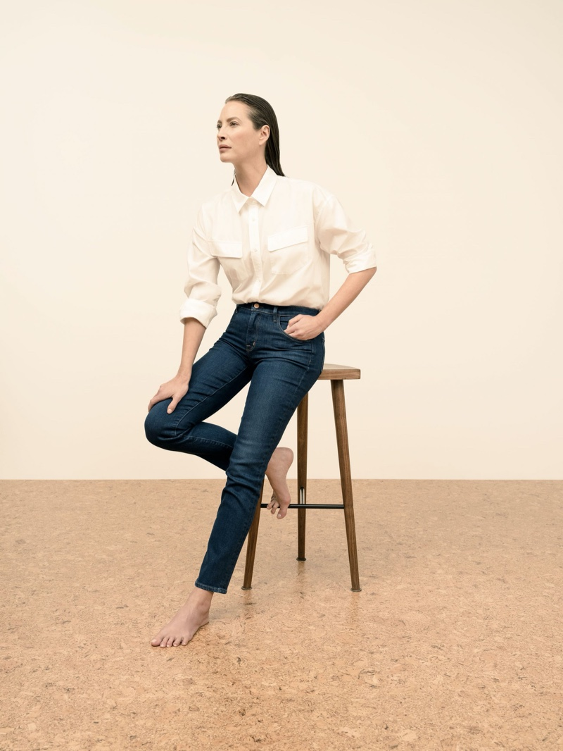 J Brand highlights sustainable style in spring 2020 campaign